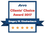Avvo Clients' Choice 2017