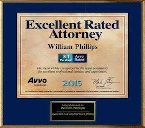 William Phillips AVVO Rated