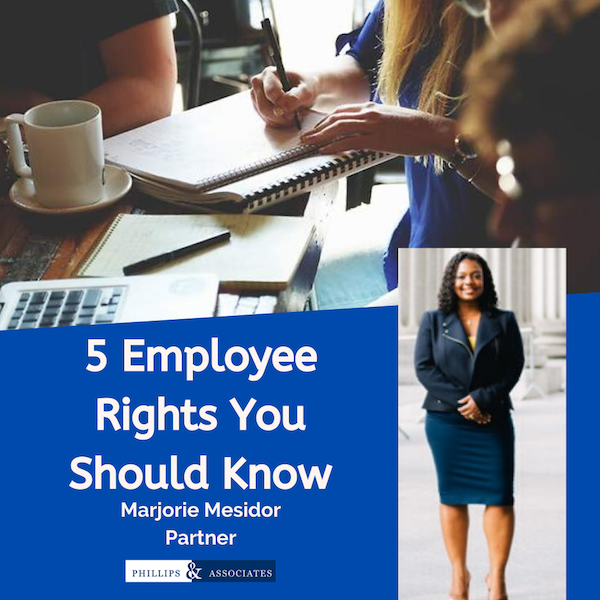 5 employee rights