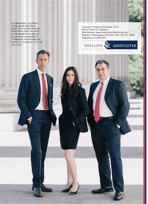 Three Phillips & Associates Attorneys Featured in US Business News Article