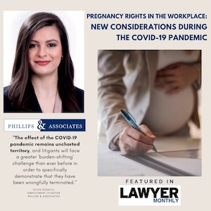 Silvia Pregnancy Rights in the Workplace