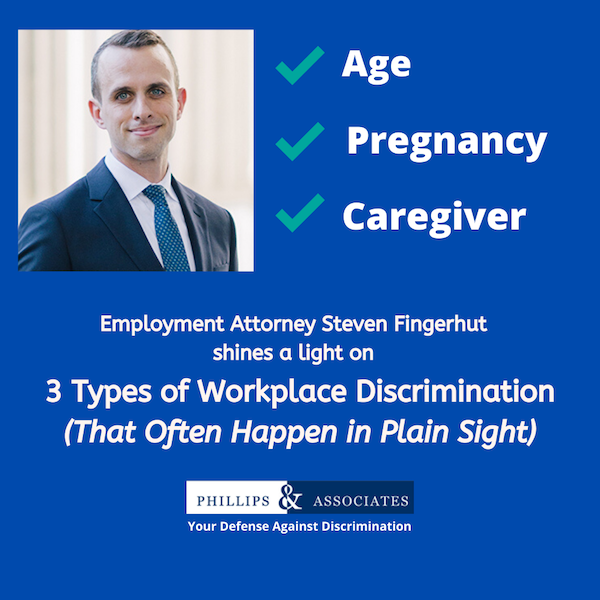 Steven Fingerhut Discusses Three Types of Workplace Discrimination for Thrive Global