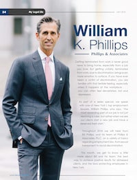 William Phillips Profiled in Lawyer Monthly
